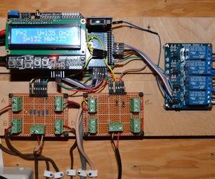2nd Gen Arduino Hot water solar collector controller