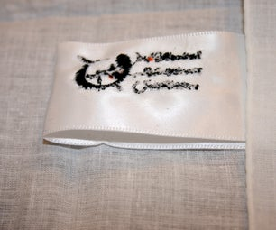 CNC Embroidery: Custom Tags