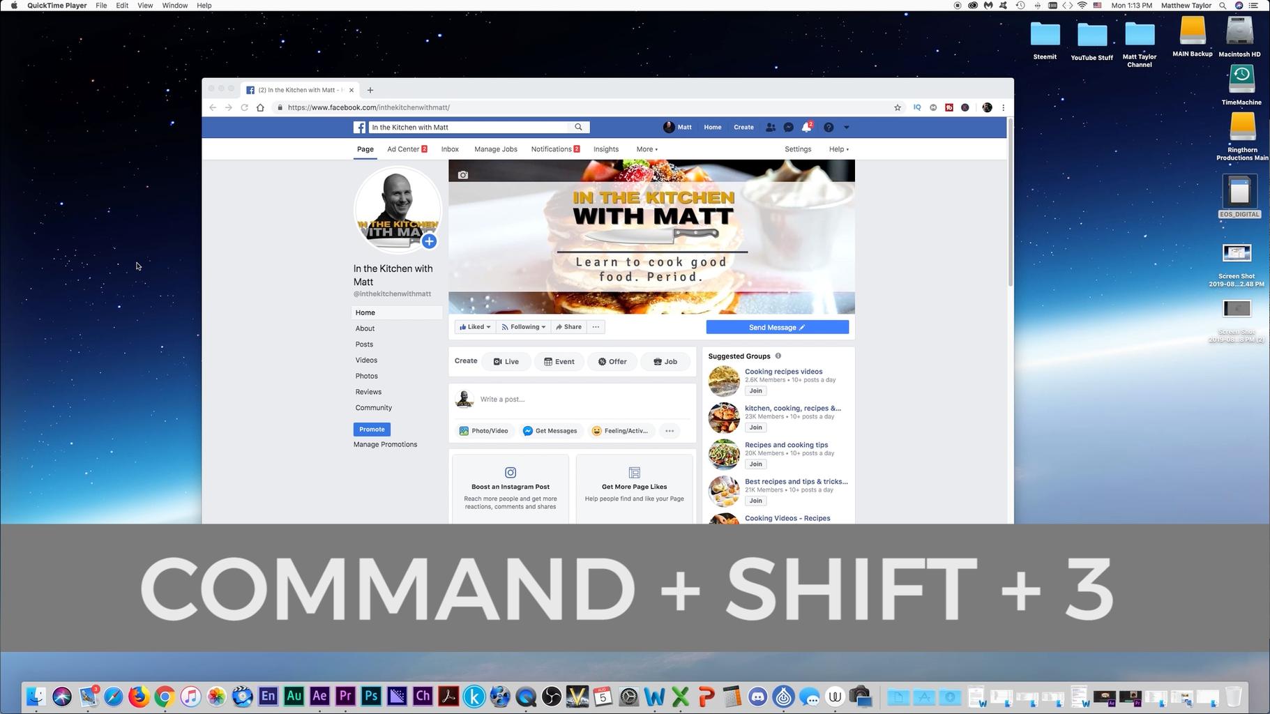 Screenshot of Whole Desktop