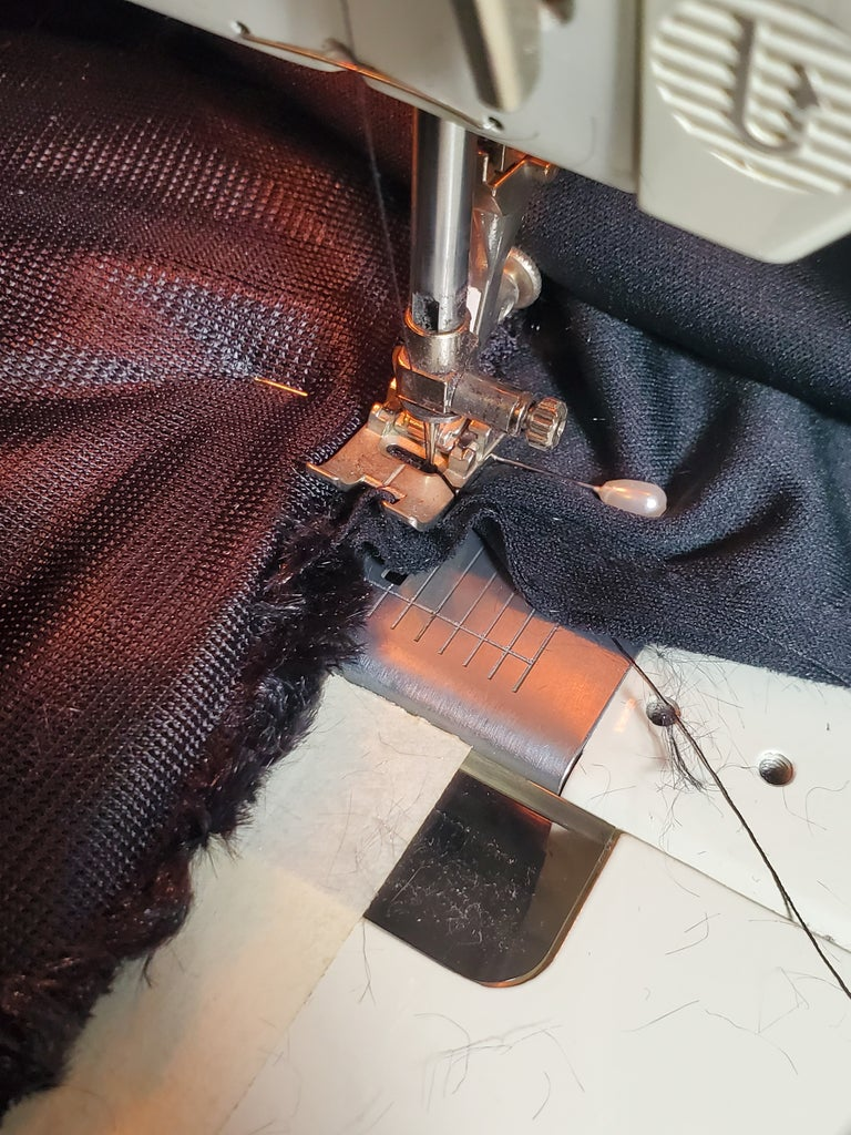 Sewing the Long Edge