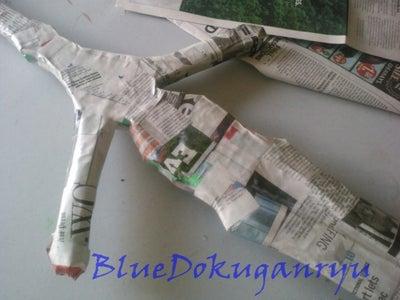 Paper Mache Coat
