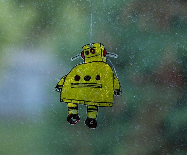 Instructable Robot Suncatcher