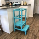 How to Build a Toddler Kitchen Helper Stool for $30