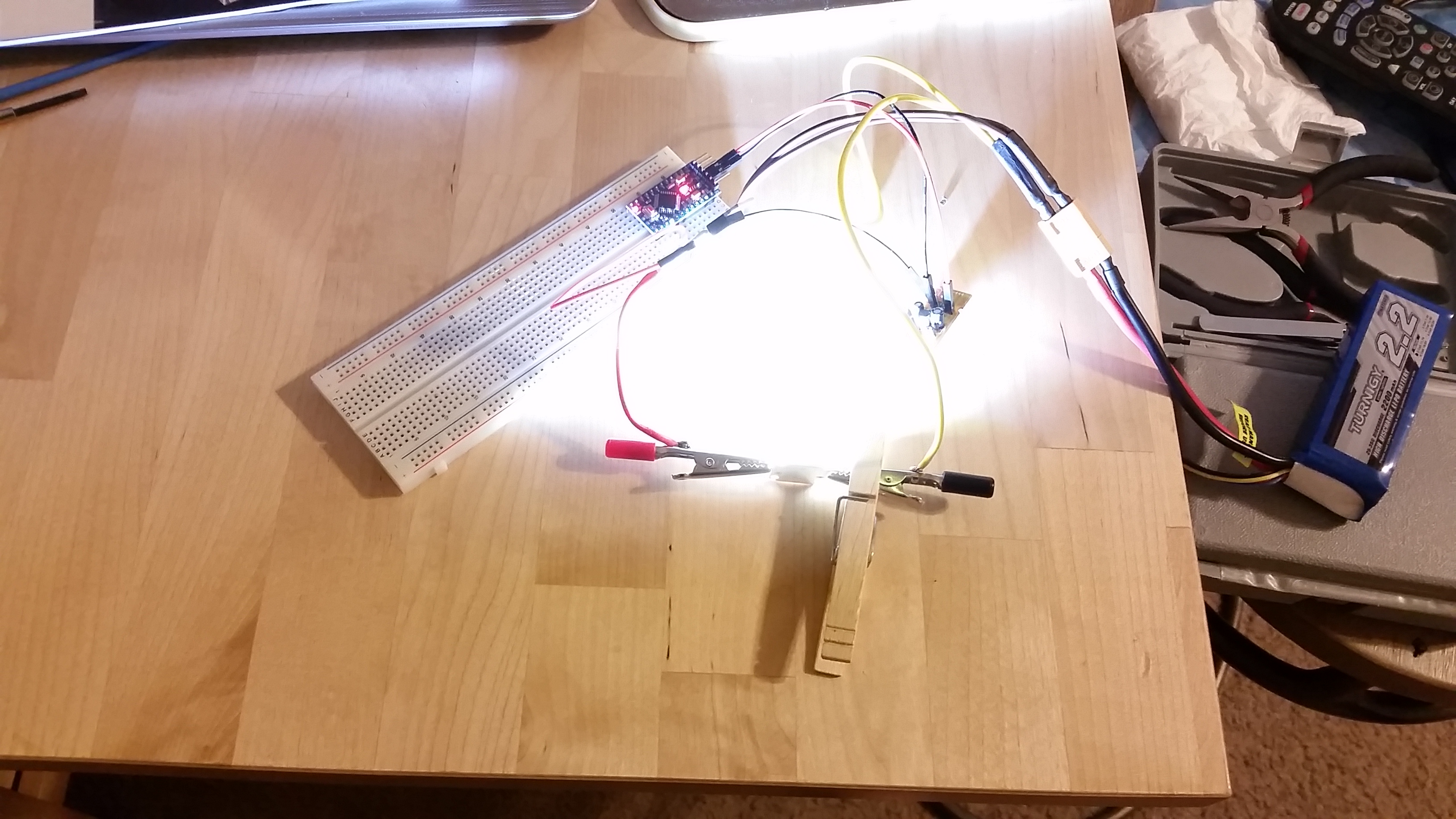20W LED-strobe for RC-aircraft