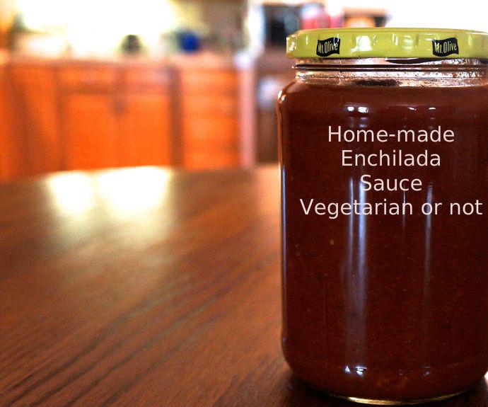 Enchilada Sauce Is Easy To Make Vegetarian or Not