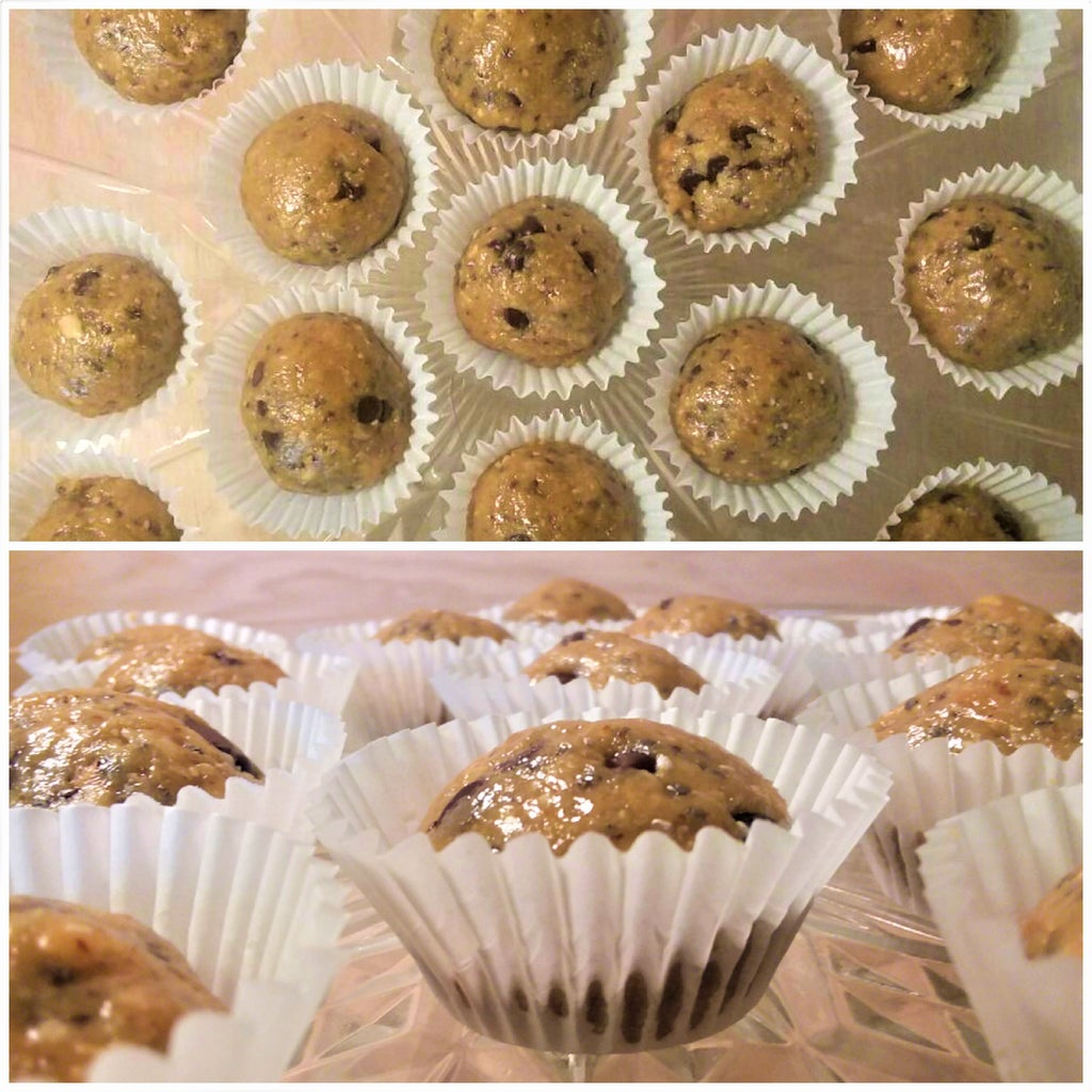 Maple-Nut Cookie Dough Bites