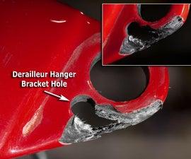 Carbon Fiber Repair: Damaged Bicycle Dropout