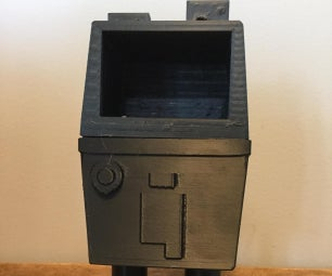 3D Printed Gonk Droid Trashbox With Tinkercad