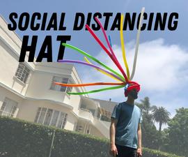 社会疏远帽子