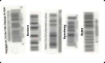 Line Up Barcodes in Photo Editing Program
