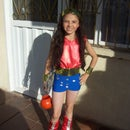 Lil Wonder Woman Costume