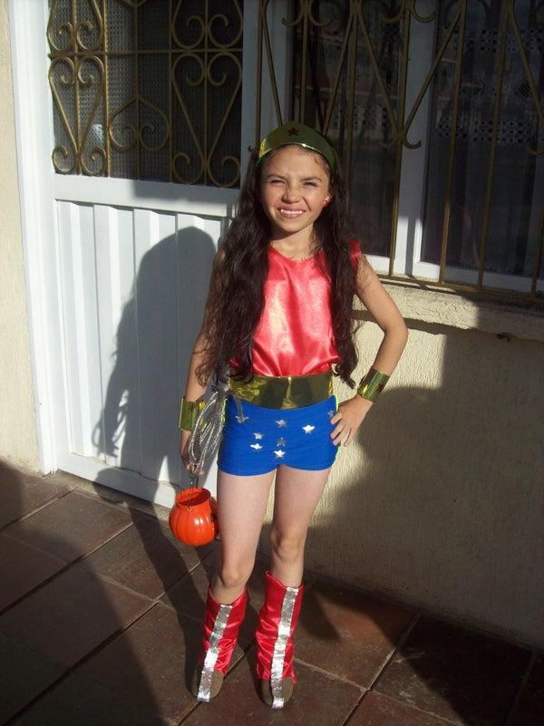 Lil Wonder Woman Costume