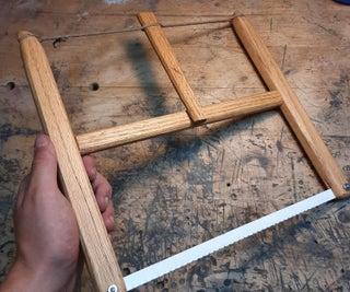 Scrapwood Frame Saw