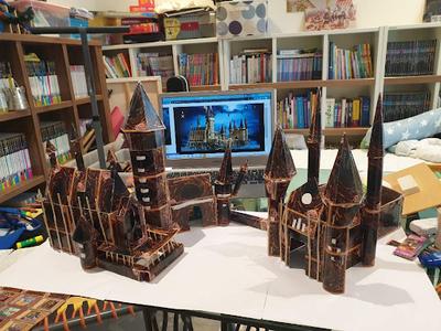 DIY Hogwarts Castle
