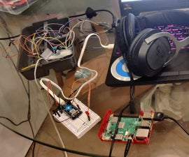 Controlling Particle Argon With Raspberry Pi and Your Voice