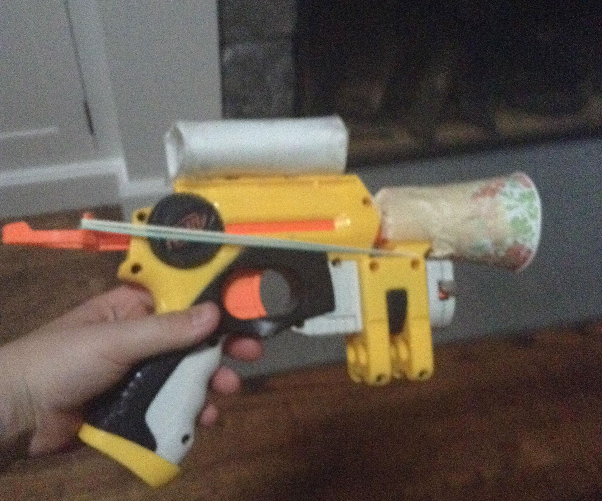 Moded NERF Gun!