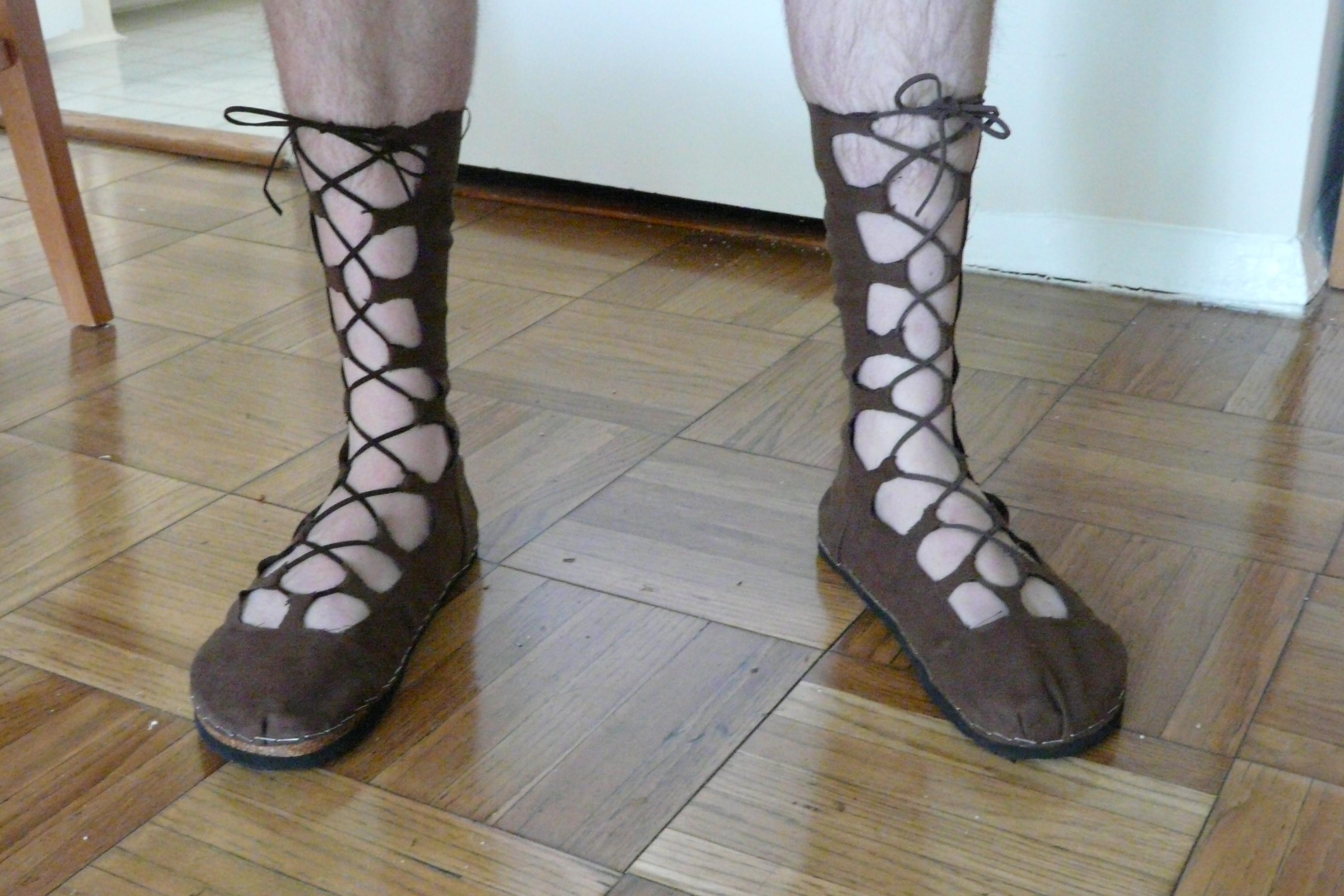 Ghillie Shoes for Your Renaissance Faire Costume