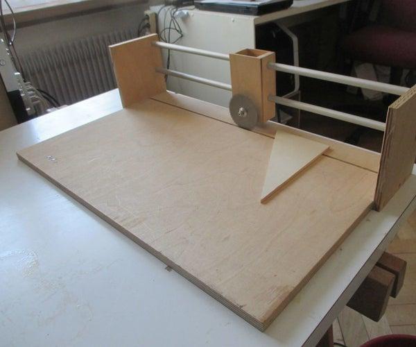 Small Horizontal Panel Saw (design Idea)