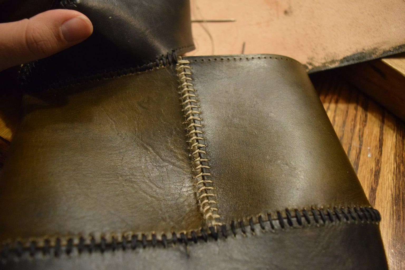 "Stitching Up the ""Leg"" and Adding Finishing Touches"