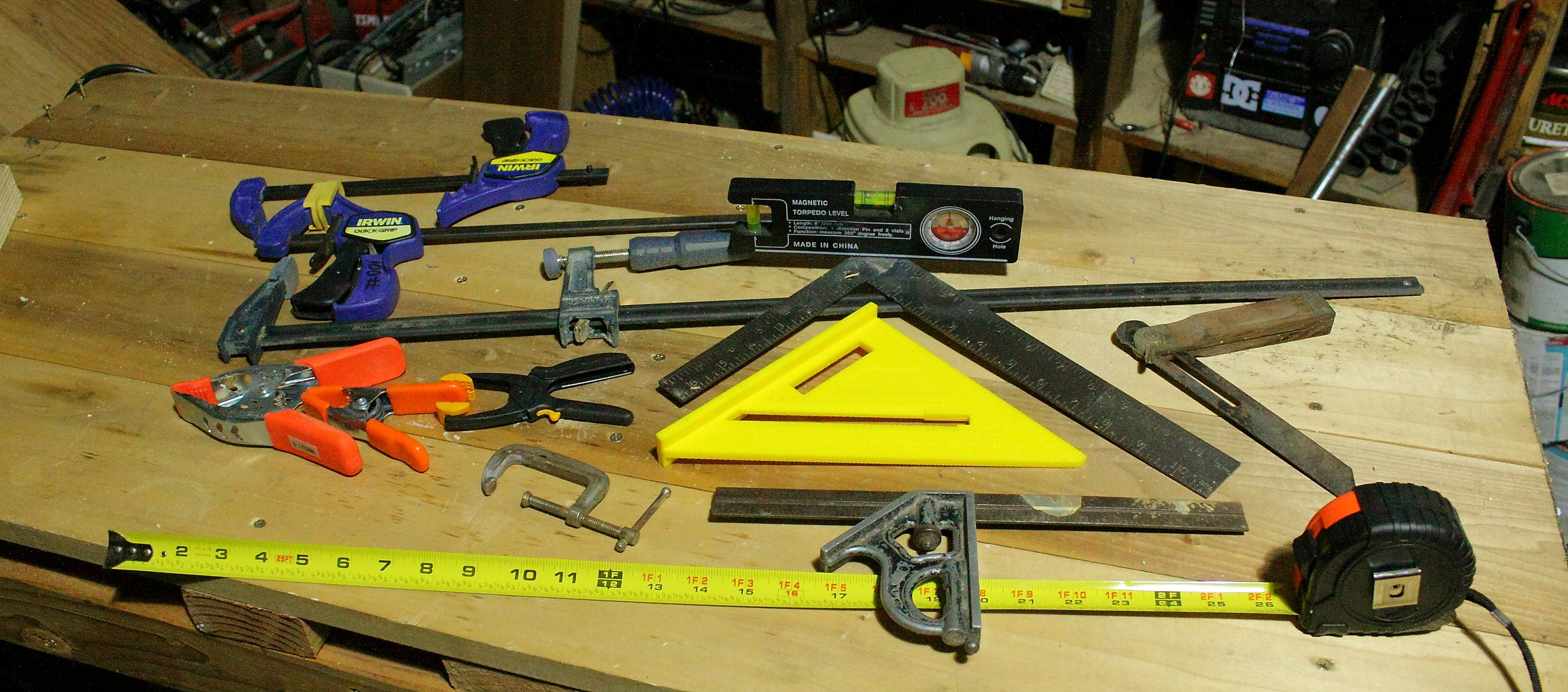 Clamps and Measuring