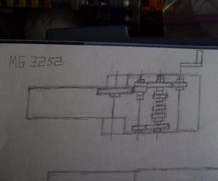 Knex Gun Project 3252 Drawings