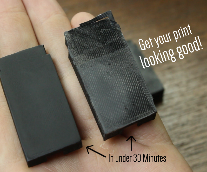 Quick and Easy Way to Neaten 3D Prints