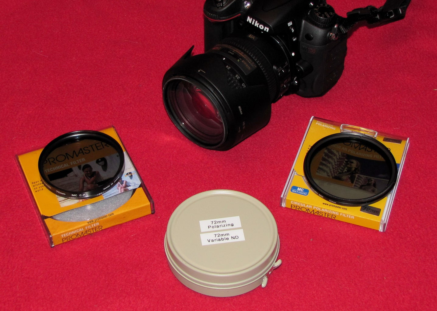 Camera Filter 'Safe'/Carrier
