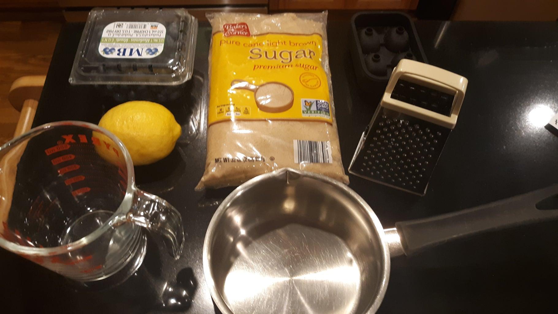 Electric Blueberry Lemonade Popsicle/Drink Cubes