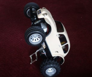 R/C Car Balancing Robot