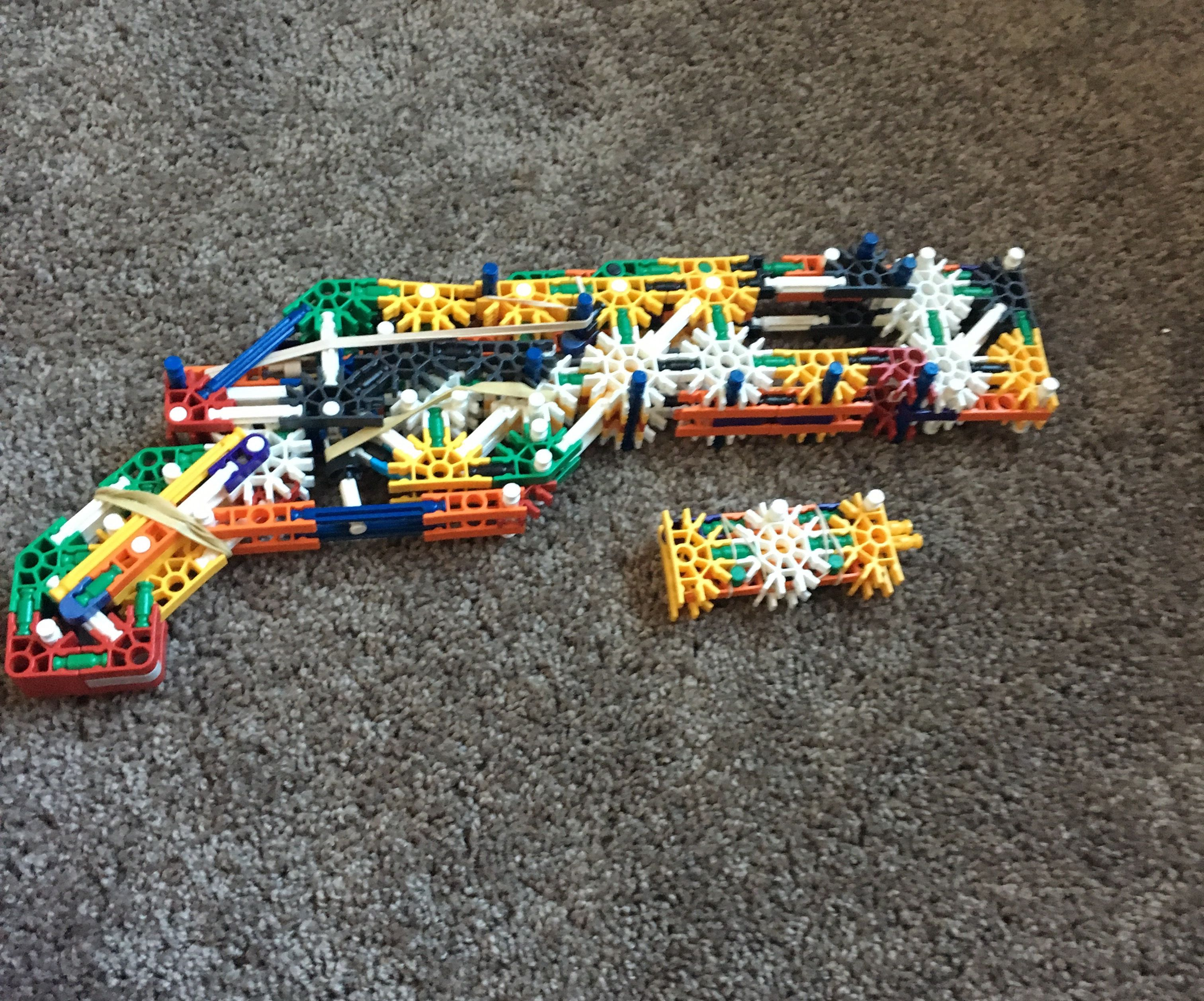 Knex Sawn Off Shotgun V2