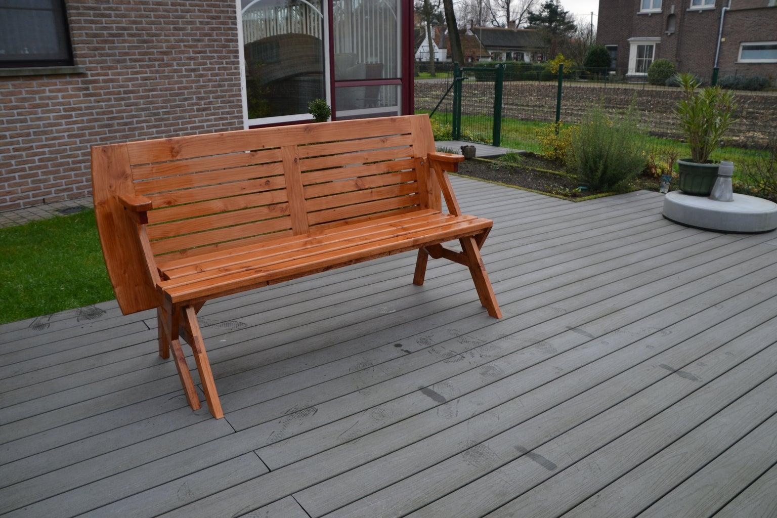 Convertible Bench/table