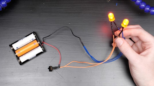 Soldering the Multiple LED Circuit