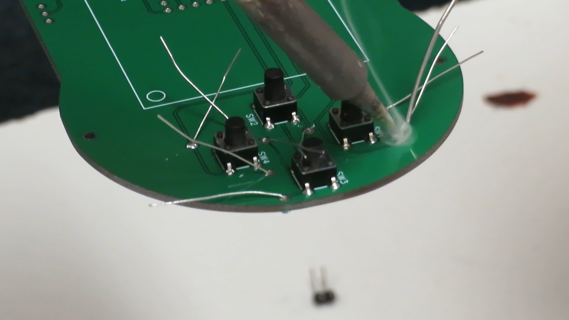 Soldering All Your Components Onto the Board