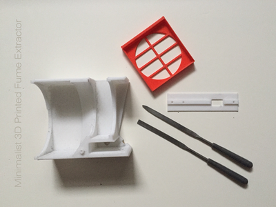 PRINT AND PREPARE 3D PARTS
