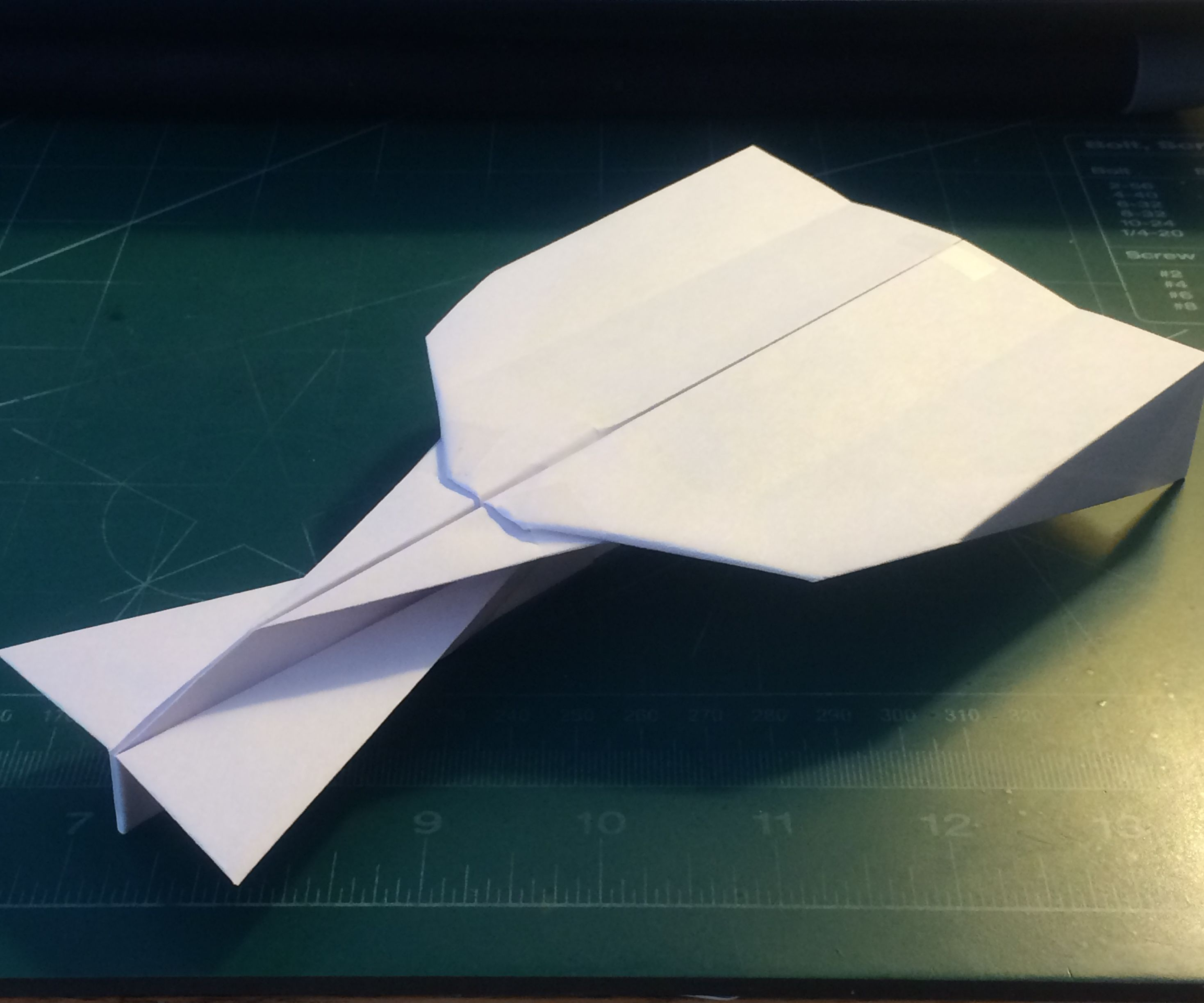 How To Make The UltraStratoVulcan Paper Airplane