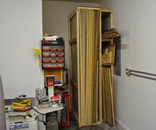 Sheet Goods Rack