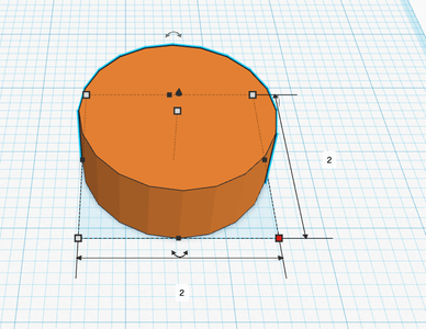 """Create the Cylinder Which Will Be """"Hollowed"""""""