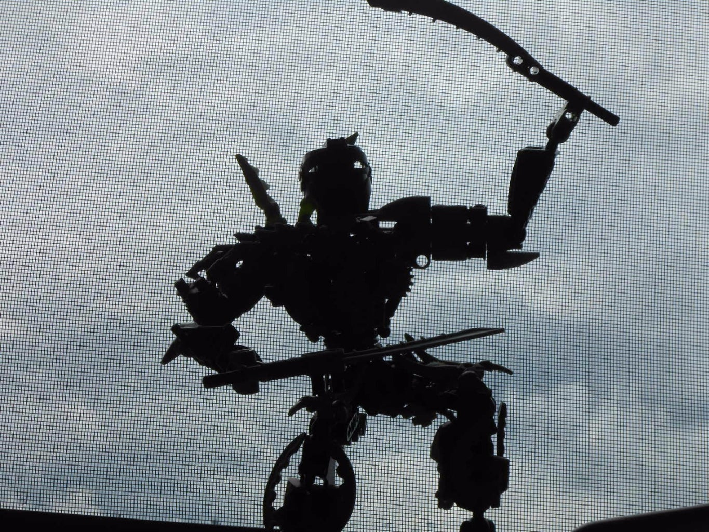 Lego Bionicle Unamed Toa of Bo (plant Life) Moc