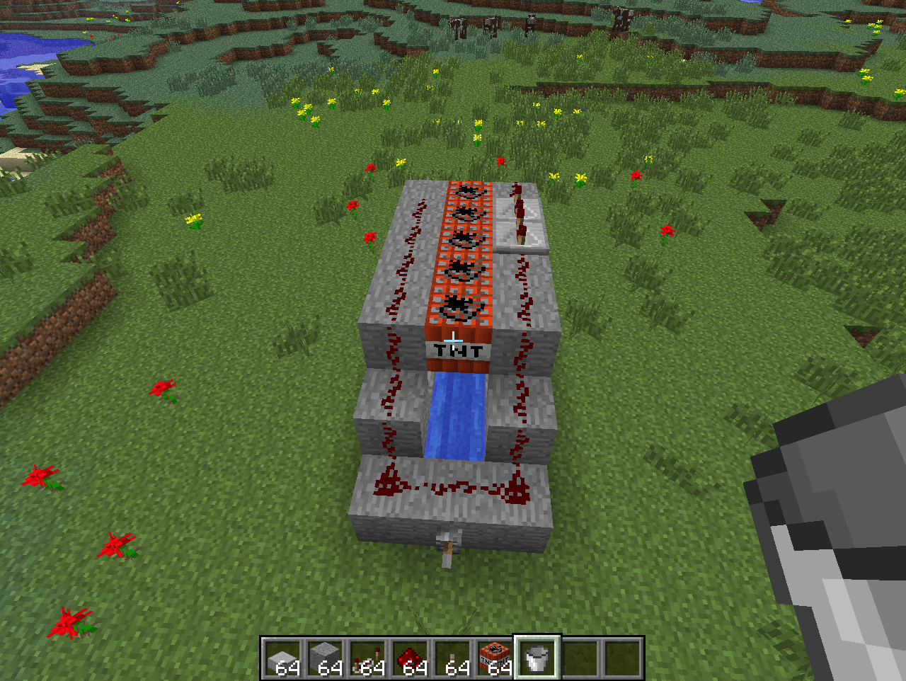 Minecraft T.N.T cannon