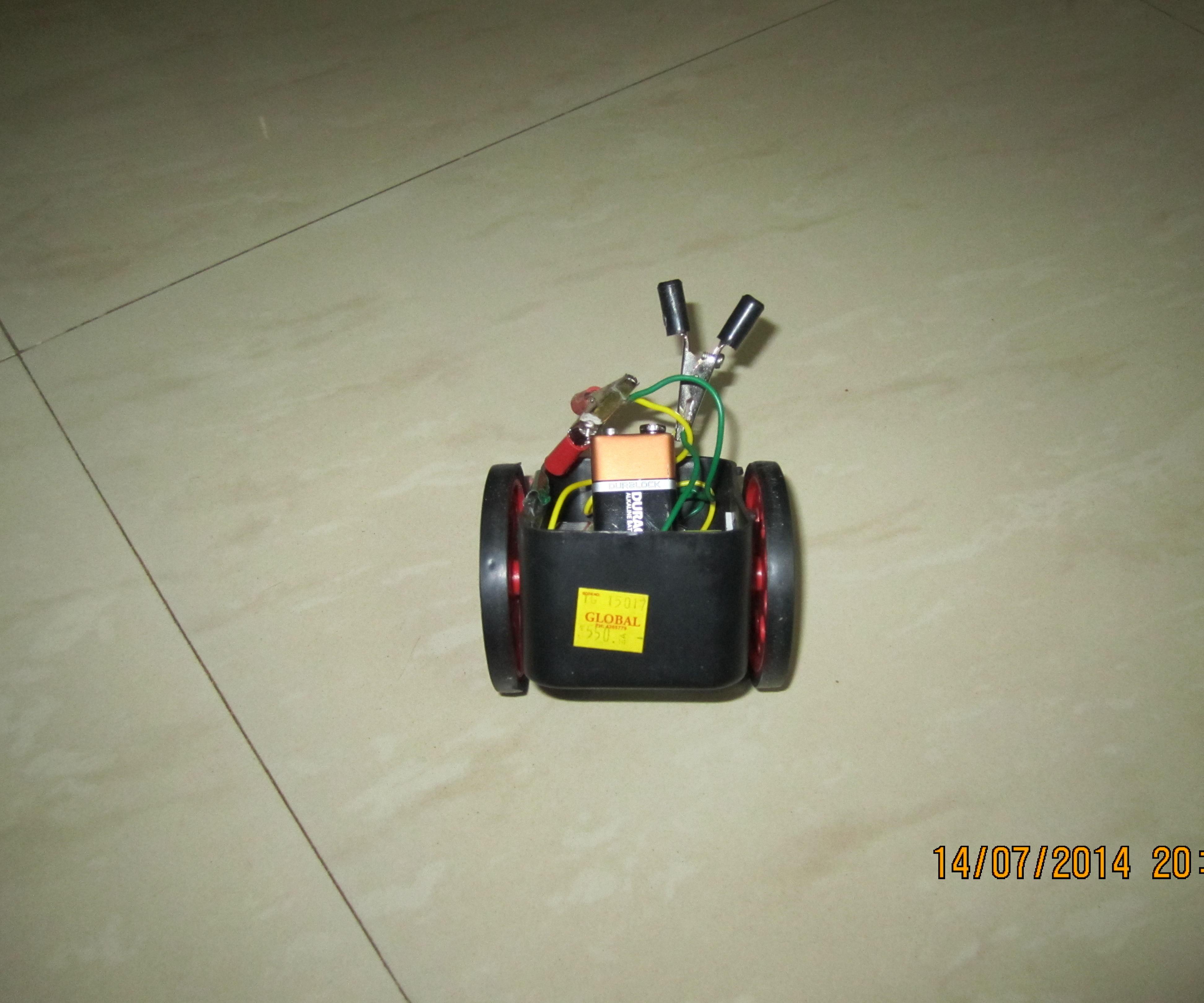 beginner autonomous robot (partially)