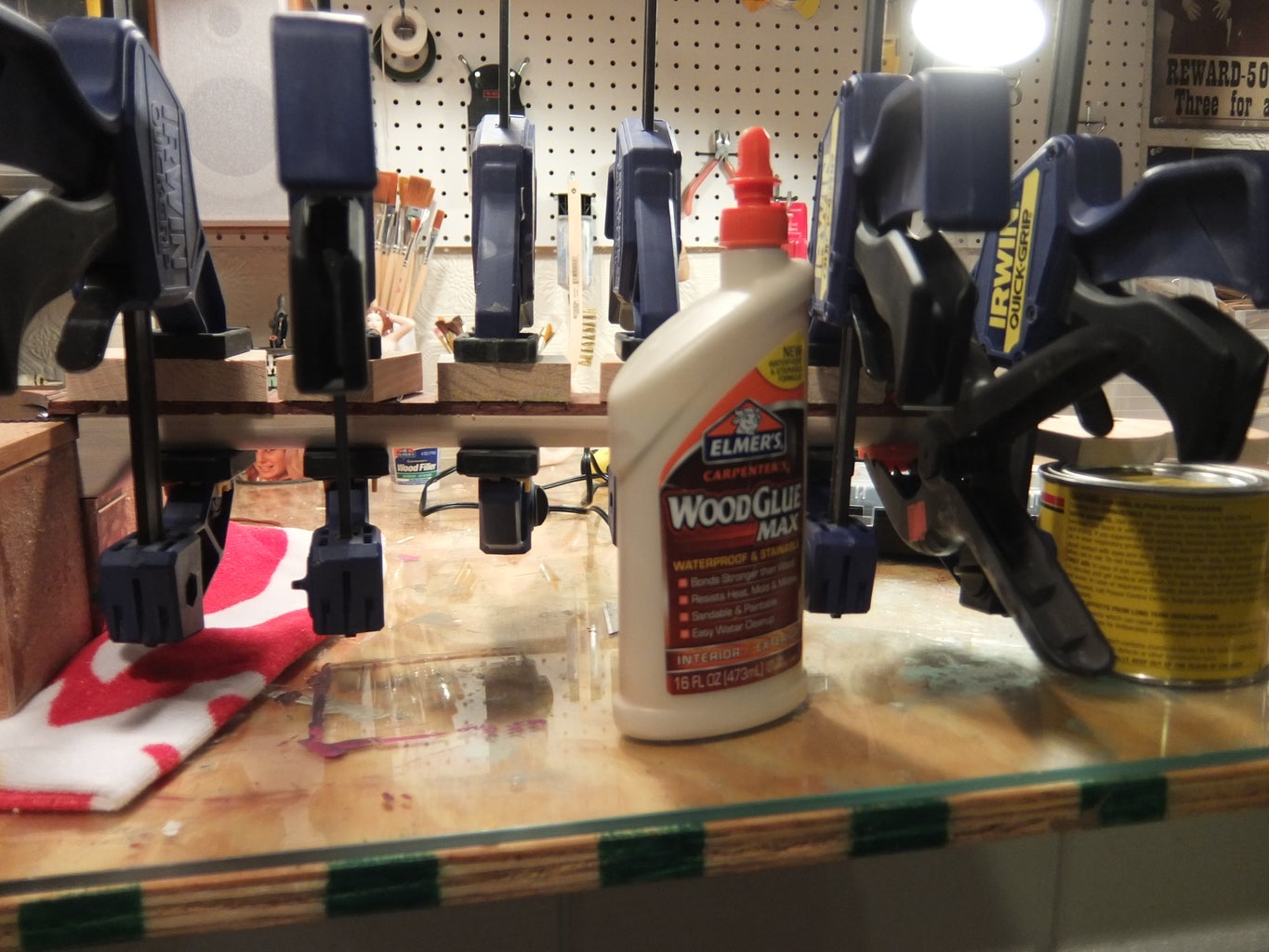 Gluing the Fingerboard