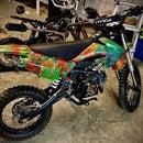 Hydro-Dipped Dirt Bike