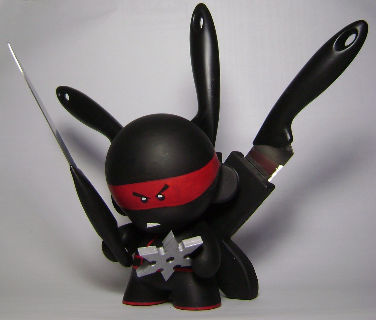 Munny Ninja Knife Set