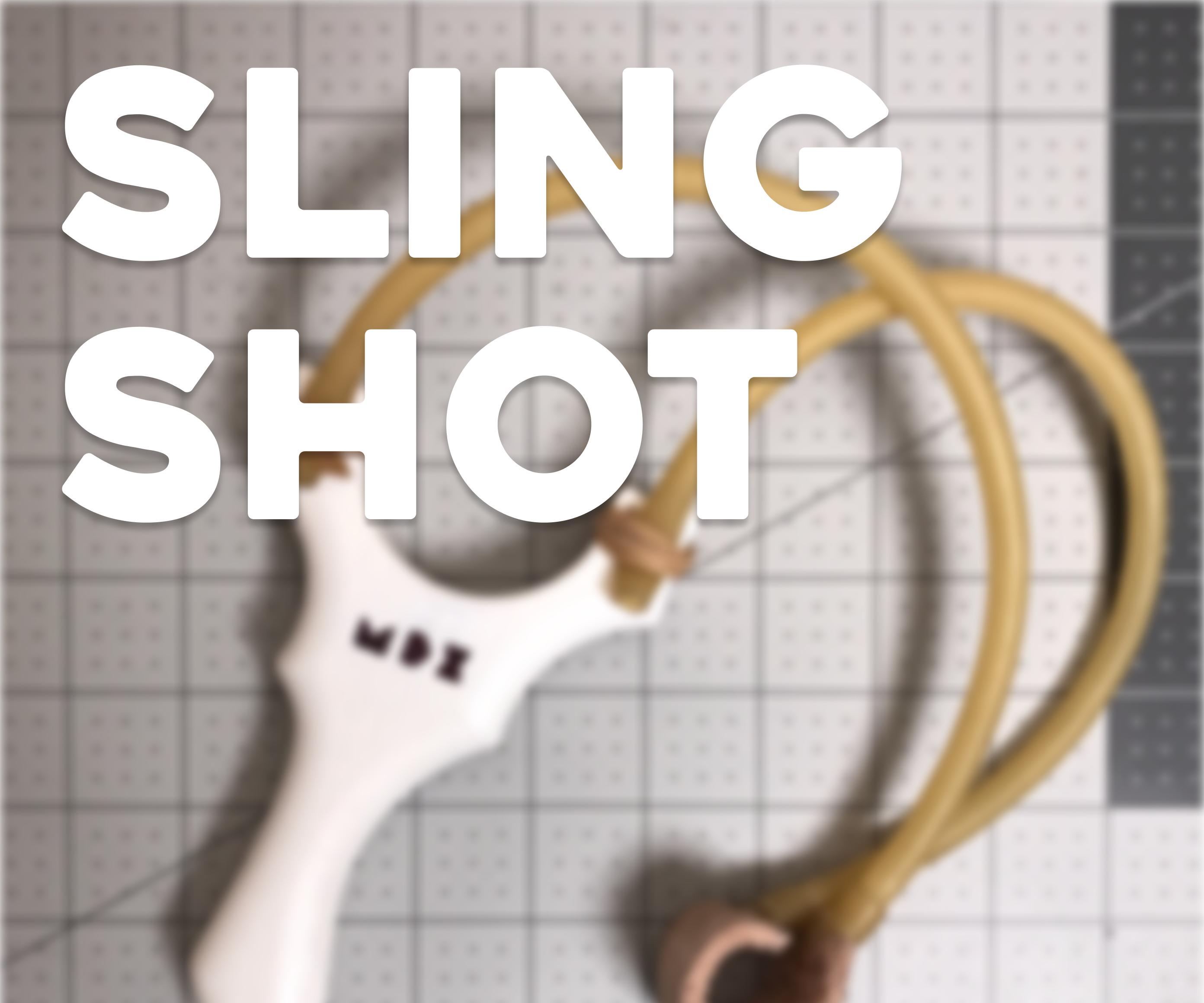 3D Printed Slingshot