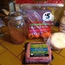 Lamb Stuffed mini sweet peppers