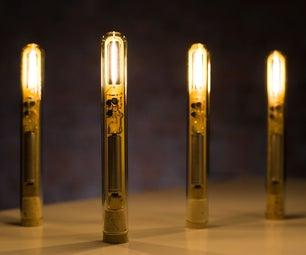 Joule Thief Filament Lamp
