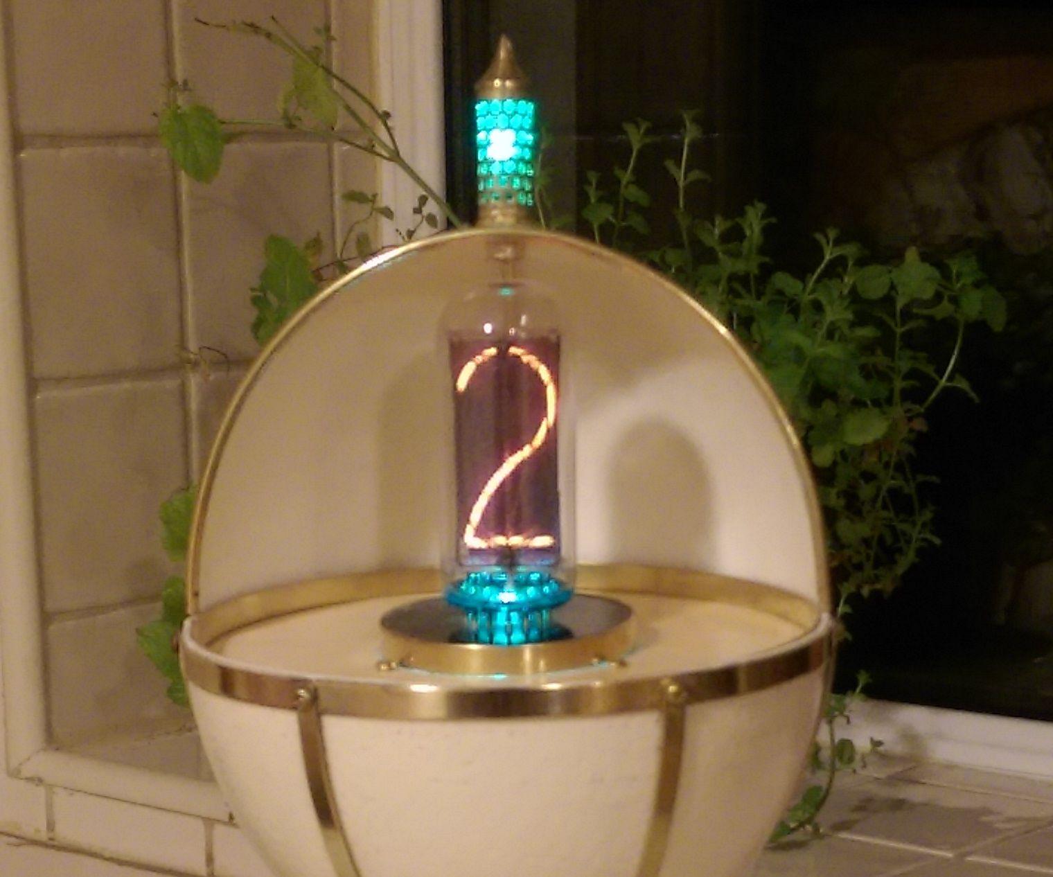 A 'Faberge' Styled Single Tube Nixie Clock