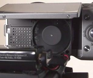 Over Heating Sony NEX 5N Fan Mod TFX TV # 9