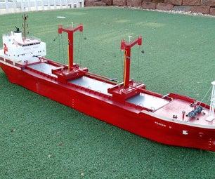 Paper Mache Ship Models