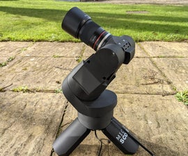 The Micro Scope | a Miniture GOTO Telescope.